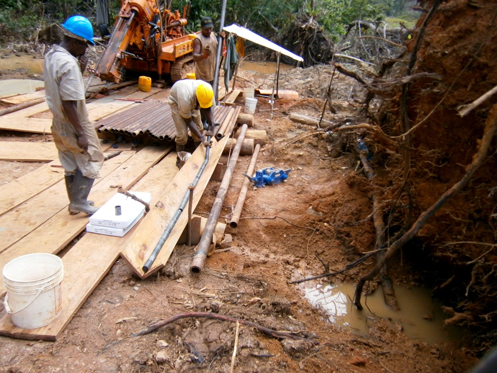 Groete Gold Copper Project - Guyana
