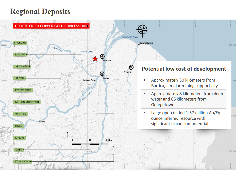Groete Project Regional Deposits