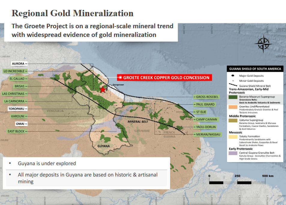 Groete Project Regional Gold Minderatlization